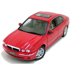 ジャガー Xタイプ ミニカー 1/18 マイスト MAISTO - JAGUAR - X-TYPE 1999 RED|a-mondo2