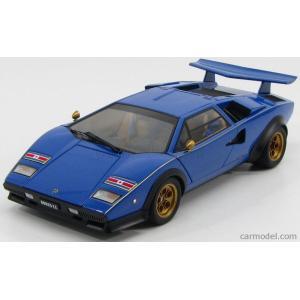 ランボルギーニ カウンタック ミニカー 1/18 オートアート AUTOART - LAMBORGHINI - COUNTACH LP5000S 1982 - WALTER WOLF EDITION BLUE|a-mondo2