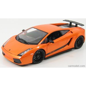 ランボルギーニ ガヤルド ミニカー 1/18 マイスト MAISTO - LAMBORGHINI - GALLARDO SUPERLEGGERA 2007 ORANGE MET|a-mondo2