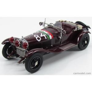 アルファロメオ 1750 GS スパイダー ミニカー 1/18 CMC - ALFA ROMEO - 1750 GS SPIDER N 84 WINNER MILLE MIGLIA 1930 NUVOLARI - GUIDOTTI a-mondo2