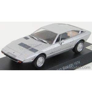 マセラティ カムシン ミニカー 1/43 EDICOLA - MASERATI - KHAMSIN 1974 SILVER|a-mondo2