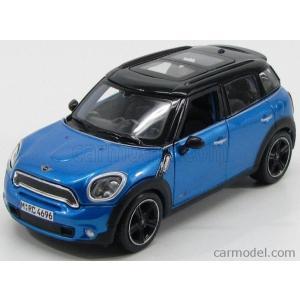 ミニクーパー カントリーマン ミニカー 1/24 マイスト MAISTO - MINI - COUNTRYMAN COOPER S ALL4 R60 2010 BLUE MET BLACK|a-mondo2
