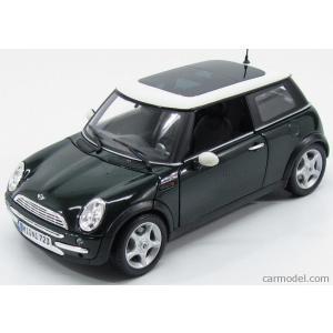 ミニクーパー ミニカー 1/24 マイスト Mini Cooper Green Diecast Model Car by Maisto|a-mondo2
