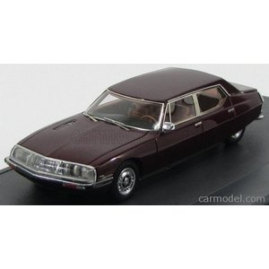 シトロエン SM オペラ ミニカー 1/43 MATRIX SCALE MODELS - CITROEN - SM MASERATI OPERA BY CHAPRON 1971 BORDEAUX MX10304-012|a-mondo2