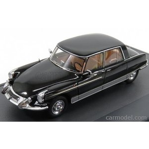 シトロエン マジェスティ ミニカー 1/43 MATRIX SCALE MODELS - CITROEN - DS21 MAJESTY - HENRI CHAPRON 1966 BLACK MX50304-042|a-mondo2