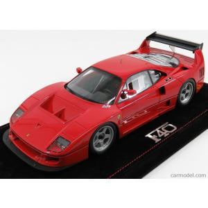 フェラーリ F40 ミニカー 1/18 BBR-MODELS - FERRARI - F40 LM 1989 RED|a-mondo2
