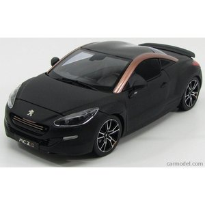 プジョー RCZ ミニカー 1/18 ノレブ NOREV - PEUGEOT - RCZ-R CONCEPT COUPE SALON DE PARIS 2013 MATT BLACK COPPER|a-mondo2