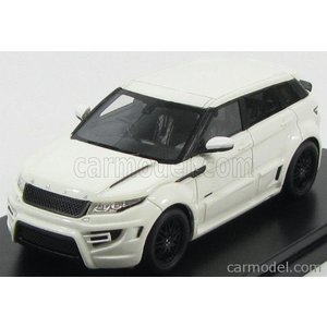 ランドローバー レンジイヴォーク ミニカー 1/43 PREMIUM-X - LAND ROVER - RANGE EVOQUE 4-DOOR BY ONYX 2012 WHITE|a-mondo2