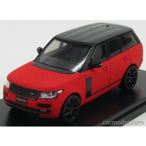 ランドローバー レンジローバー ミニカー 1/43 PREMIUM-X - LAND ROVER - RANGE L405 2014 MATT RED BLACK|a-mondo2