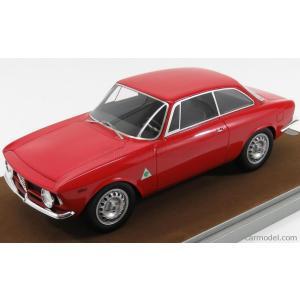 アルファロメオ ジュリア ミニカー 1/18 TECNOMODEL - ALFA ROMEO - GIULIA 1600 SPRINT GTA 1965 RED TM18-60A|a-mondo2