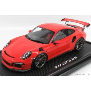 ポルシェ 911 GT3 RS ミニカー 1/12 SPARK-MODEL - PORSCHE - 911 991 GT3 RS COUPE 2013 - CON VETRINA - WITH SHOWCASE ORANGE WAX02200002|a-mondo2