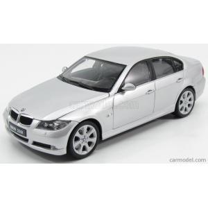 BMW 3シリーズ 330i ミニカー 1/18 ウェリー WELLY - BMW - 3-SERIES 330i 2007 SILVER|a-mondo2