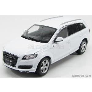 アウディ Q7 ミニカー 1/18 WELLY - AUDI - Q7 V8 4.2 FSI 4X4 2008 WHITE|a-mondo2