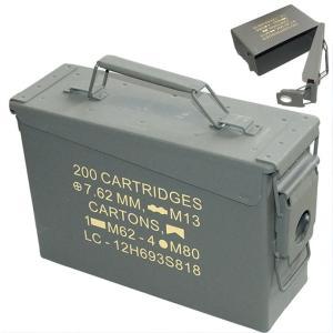 USタイプ アンモボックス 弾薬箱 「small」|a-oluolu