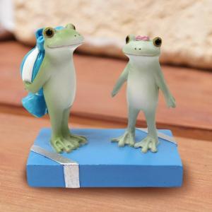 コポー Copeau かわいい カエルの置物 コポタロウのプレゼント かえる 蛙 雑貨 ガーデニング a-oluolu