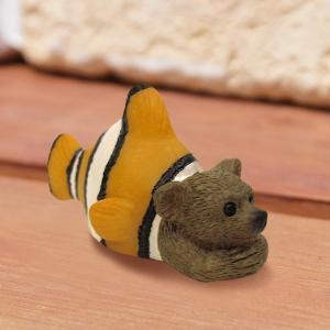 コポー Copeau かわいい カエルの置物 クマノミ かえる 蛙 雑貨 ガーデニング a-oluolu