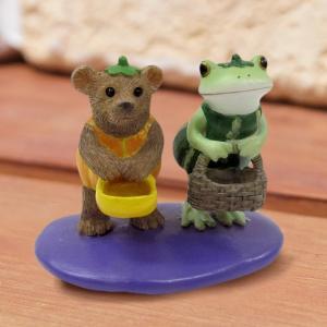 ハロウィン コポー Copeau かわいい カエルの置物 お菓子ちょーだい かえる 蛙 雑貨 ガーデニング|a-oluolu