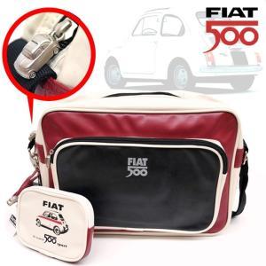 FIAT500のおしゃれなバッグ フィアット500 こだわり仕様の メッセンジャーバッグ |a-oluolu