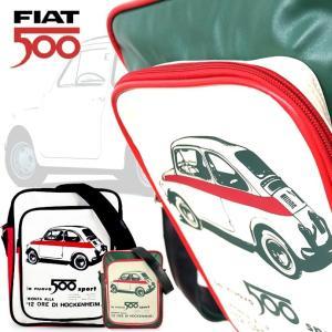 FIAT500のおしゃれなバッグ FIAT500 フィアット500 ショルダーバッグ FISB24(全2種)|a-oluolu