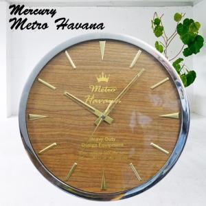 MERCURY Metro マーキュリー メトロ HAVANA ウォールクロック (ウッド)|a-oluolu