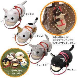 アニマルメガネケース ミケネコ 猫 ねこ ぬいぐるみ 小物入れ|a-oluolu|02