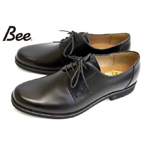 madras Bee 超軽量 幅広 プレーントゥ BE1556 撥水仕様  ビジネス シューズ ブラック a-one1