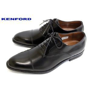 REGAL KENFORD フォーマルもOK ストレートチップ KB48AJ 本革 ビジネスシューズ ブラック|a-one1