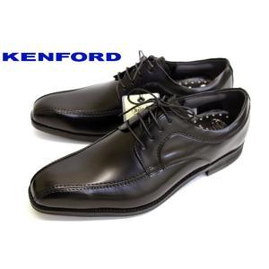 REGAL KENFORD スワールトゥ KN22AB 幅広 レースアップ 本革 ビジネスシューズ ブラック|a-one1