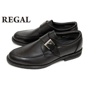 リーガル REGAL 靴 メンズ ビジネスシューズ 34NR BB 本革 GORE-TEX Uモンク...