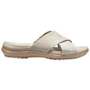 クロックス カプリ 5.0 シマ― エックスバンド サンダル crocs capri 5.0 shimmer x-band sandal w/在庫処分 店頭戻り品|a-outlet