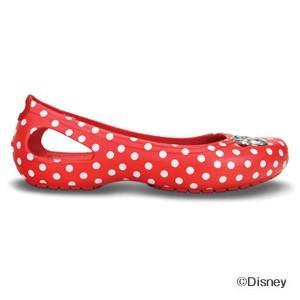 クロックス カディ ミニー マウス フラット ウィメン crocs Kadee Minnie Mouse flat w/在庫処分 店頭戻り品|a-outlet