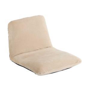[送料無料・カード・前払限定]【日本製】座椅子S・テクノベージュ「和楽チェア」*座面がお尻にフィットして姿勢が正しくなるよう設計!|a-para