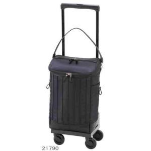 「支えるバッグ・スワニー10」D-217リニーエL21キャリーバッグ・ブラック:高さ55×横29×奥行22cm
