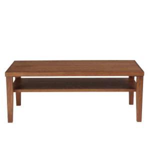 [送料無料・前払限定]リビングテーブル、センターテーブル・ウォールナット棚板取り外し可能|a-para