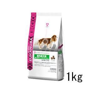 ユーカヌバ スペシャルサポート 室内犬 成犬(1歳から6歳) 全犬種用 小粒 1kg ドッグフード P&G|a-pet