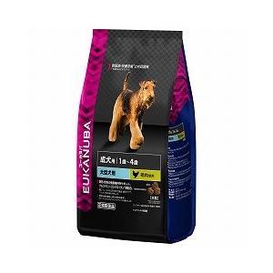ユーカヌバ 犬用ドライフード 1歳−6歳用 健康維持用 メンテナンス 大型犬種 大粒 2.7kg|a-pet