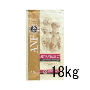 ANF アドバンテイジ27 18kg 成犬用 タンパク質27% ドッグフード|a-pet