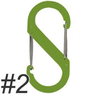 NITE IZE ナイトアイズ エスビナープラスチック No.2 NI01141 ライムグリーン |a-pet
