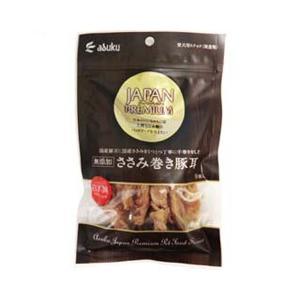 アスク 犬用おやつ ジャパンプレミアム ささみ巻き 豚耳 9個|a-pet
