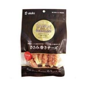 アスク 犬用おやつ ジャパンプレミアム ささみ巻き チーズ 7個|a-pet