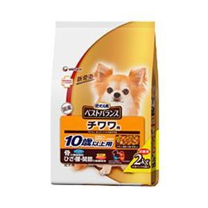 ユニチャーム 犬用ドライフード 愛犬元気 ベストバランス チワワ用 10歳以上用 2kg a-pet