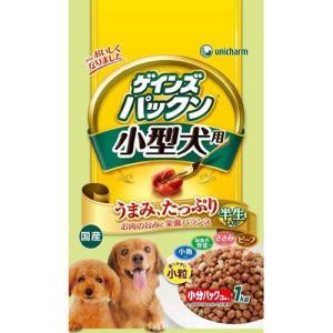 ゲインズパックン 小型犬用 1kg |a-pet