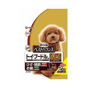 愛犬元気 ベストバランス トイ・プードル用 チキン・緑黄色野菜・玄米入り 2kg |a-pet