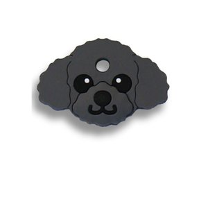 FIELD POINT ドッグ キーカバー プードル ブラック|a-pet
