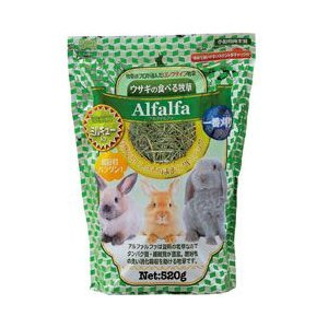 アラタ うさぎ用 牧草 アルファルファ ミルキュー入り 520g|a-pet