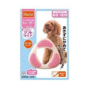 ハーツ 犬用おもちゃ デンタルトイ ティーザー ソフトタイプ 超小型犬−小型犬用|a-pet