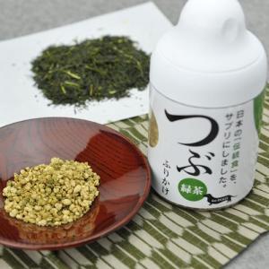 [P]サンユー研究所 犬用栄養補助食 つぶふりかけ つぶ 緑茶 ボトル 80g |a-pet