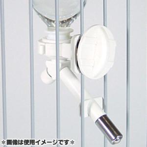 市瀬 ペット用給水器 シングルドリンキングキット DY-2S ホワイト |a-pet