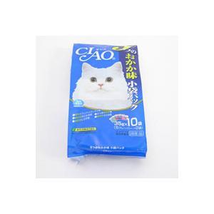 【A級トリマーおすすめ】  チャオ 5つのおかか味 小袋パック 350g 10袋|a-pet