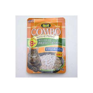 【A級トリマーおすすめ】  ミオ コンボ デリパック シニア マグロ白身とシラス 70g|a-pet